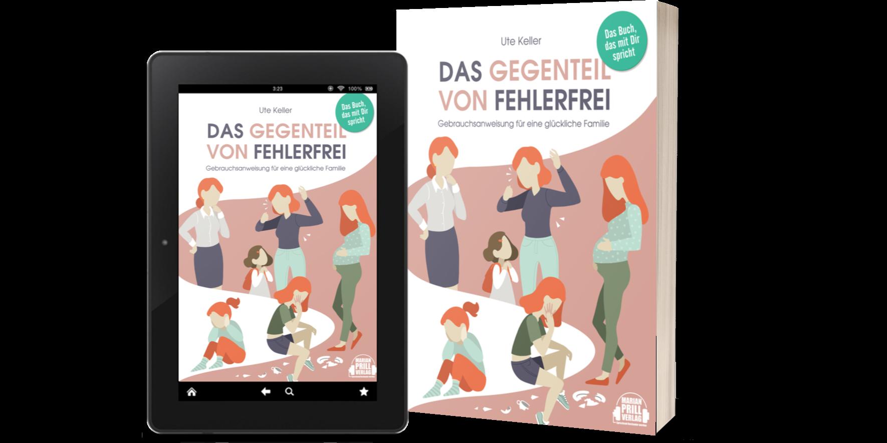 Cover - Ute Keller - Das Gegenteil von fehlerfrei